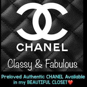 Accessories - 💥CHANEL, PRELOVED AVAILABLE HERE💥